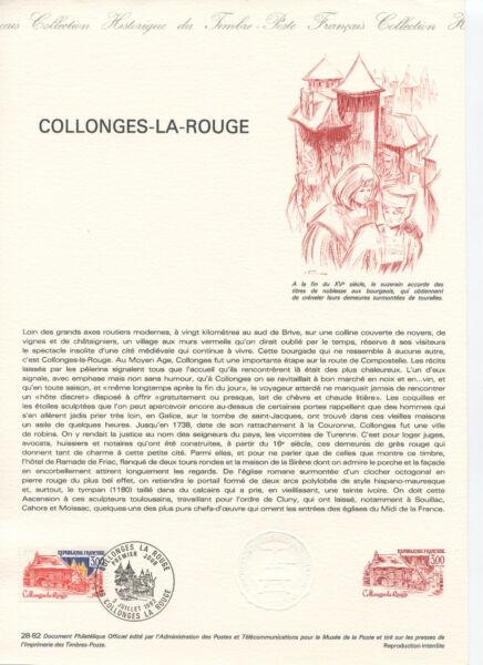 10 Documents PhilatÉliques Timbres OblitÉrÉs 1 Jour SÉrie Lieux De France ImperméAble à L'Eau, RéSistant Aux Chocs Et AntimagnéTique