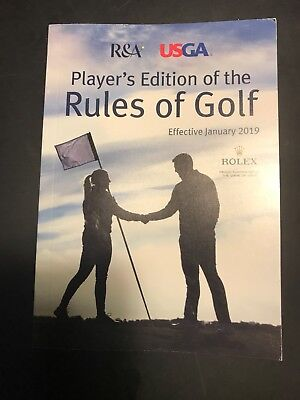 2019 rules of golf book
