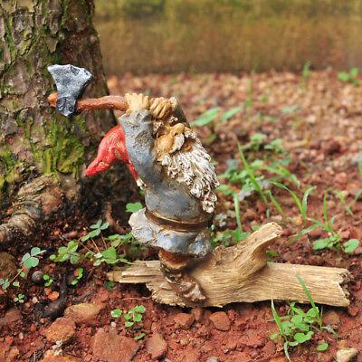 1:12 Échelle Hache Maison Poupées Jardin Miniature Bois Accessoire
