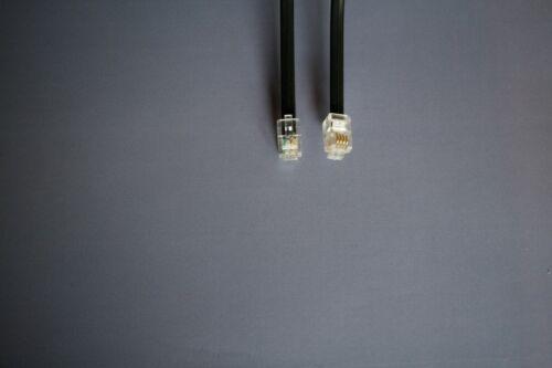 30cm 40cm 50cm 60cm 70cm Not Curled RJ10 RJ9,4P4C TELEPHONE HANDSET CABLE