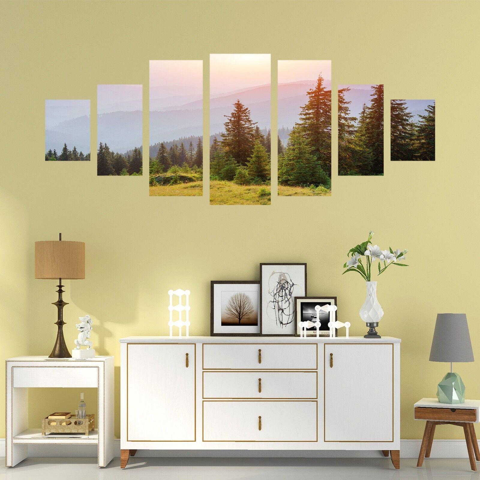 3D Sunlight Pine 686 Unframed Print Wall Paper Decal Wall Deco Indoor AJ Wall