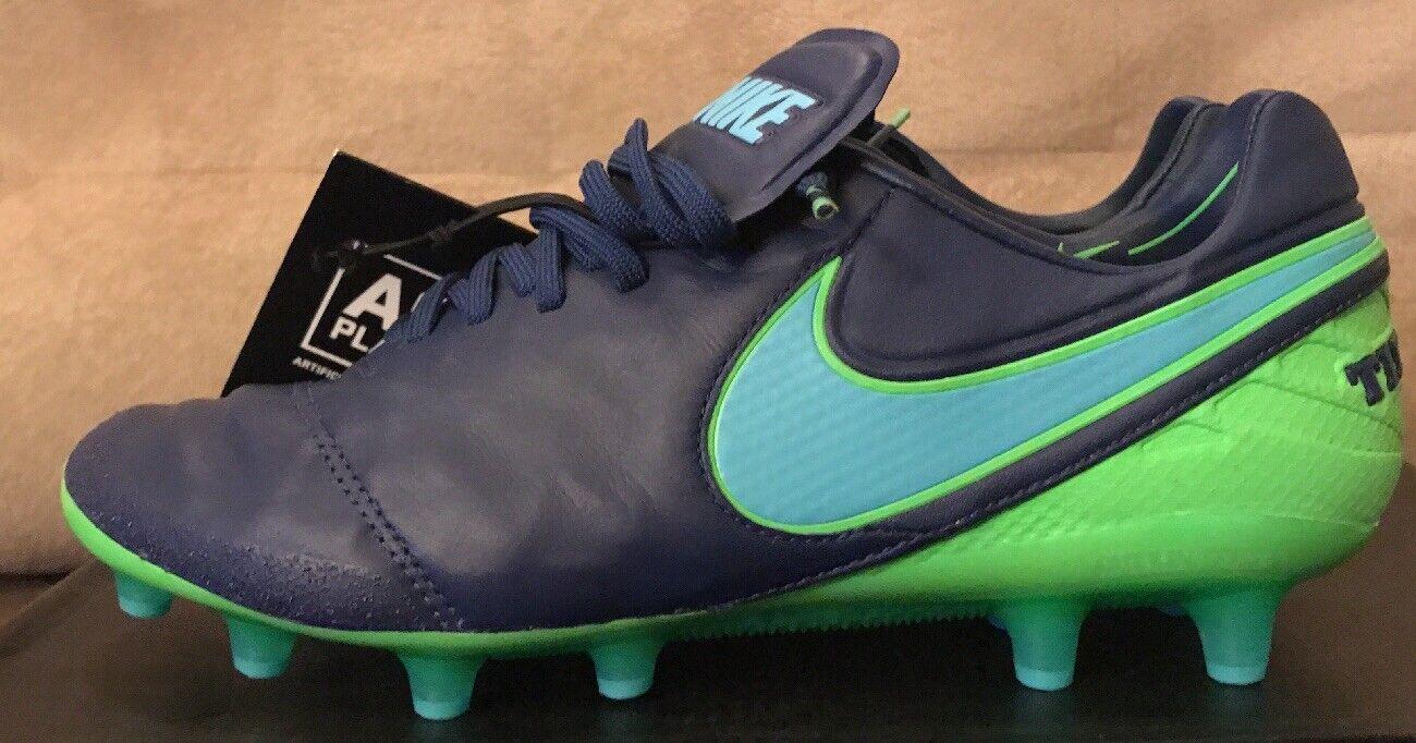 Nike tiempo vi leggenda vi tiempo ag (gli scarpini da calcio acc - uomo numero 6.5 (844593-443) 7bbbc2