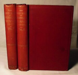The-Early-diary-of-Frances-Burney-1768-1778-In-Two-Volumes-Edited-by-Ellis