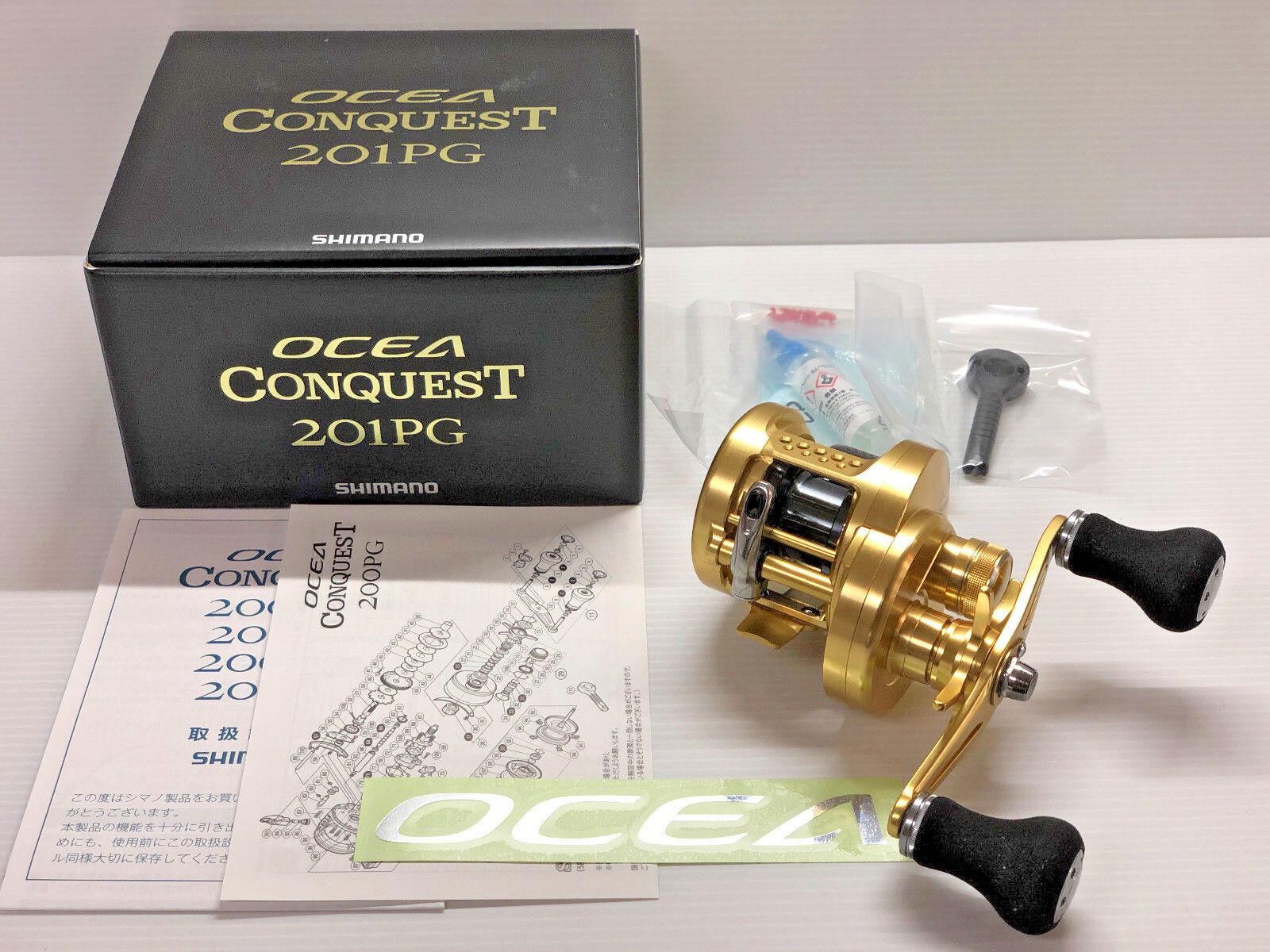 Shimano 15 Ocea conquista 201PG izquierda-Envío gratuito desde Japón