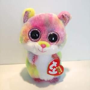 RODNEY-The-Hamster-Ty-Beanie-Boo-Plush-Style-36214-Regular-6-15cm-NEW