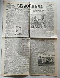 N930-La-Une-Du-Journal-Le-journal-11-octobre-1911-la-Turquie-devant-la-Triplice