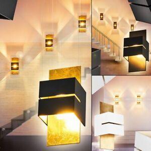 Wohn Schlaf Zimmer Beleuchtung Flur Dielen Strahler schwarz Up Down Wand Lampen