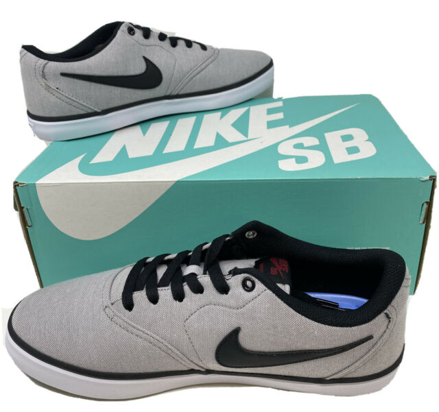 Size 8 Nike Sb Check Solarsoft Canvas Atmosphere Grey For Sale Online Ebay