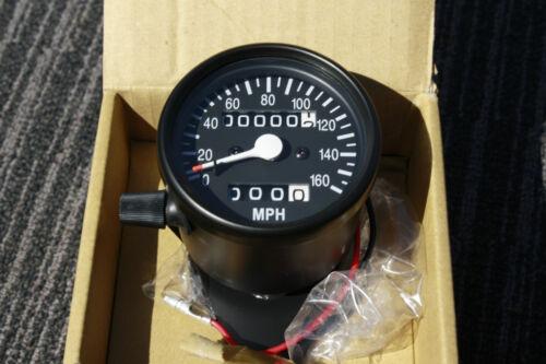 HONDA BLACK Mini SPEEDO /& TRIP METER  gauge Speedometer Suzuki Yamaha CB CB750