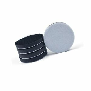 5 Pack 3 Inch 75mm Hook and Loop Soft Foam Buffering Pad for 3 Sanding Pad