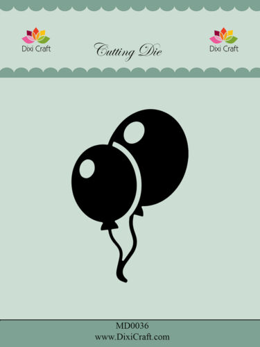 Dixi Crafts Cutting Die  BALLOONS DCMD0036