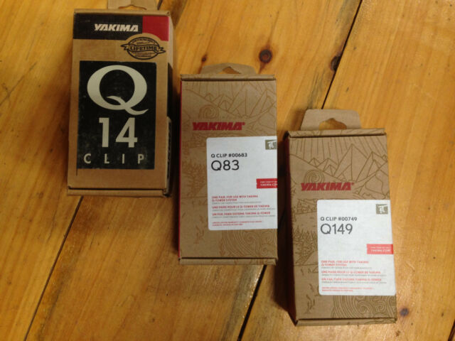 Yakima Q Clip for Q Towers prices vary Sold by pair 2 clips Free Shipping