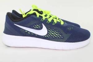 Nike Free Run Youth Size 7.0 Same As Woman 8.5 New Blue