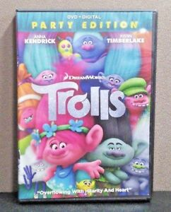 Trolls Party Edition Dvd No Digital Like New 24543342854 Ebay Ships from and sold by m + l. details about trolls party edition dvd no digital like new