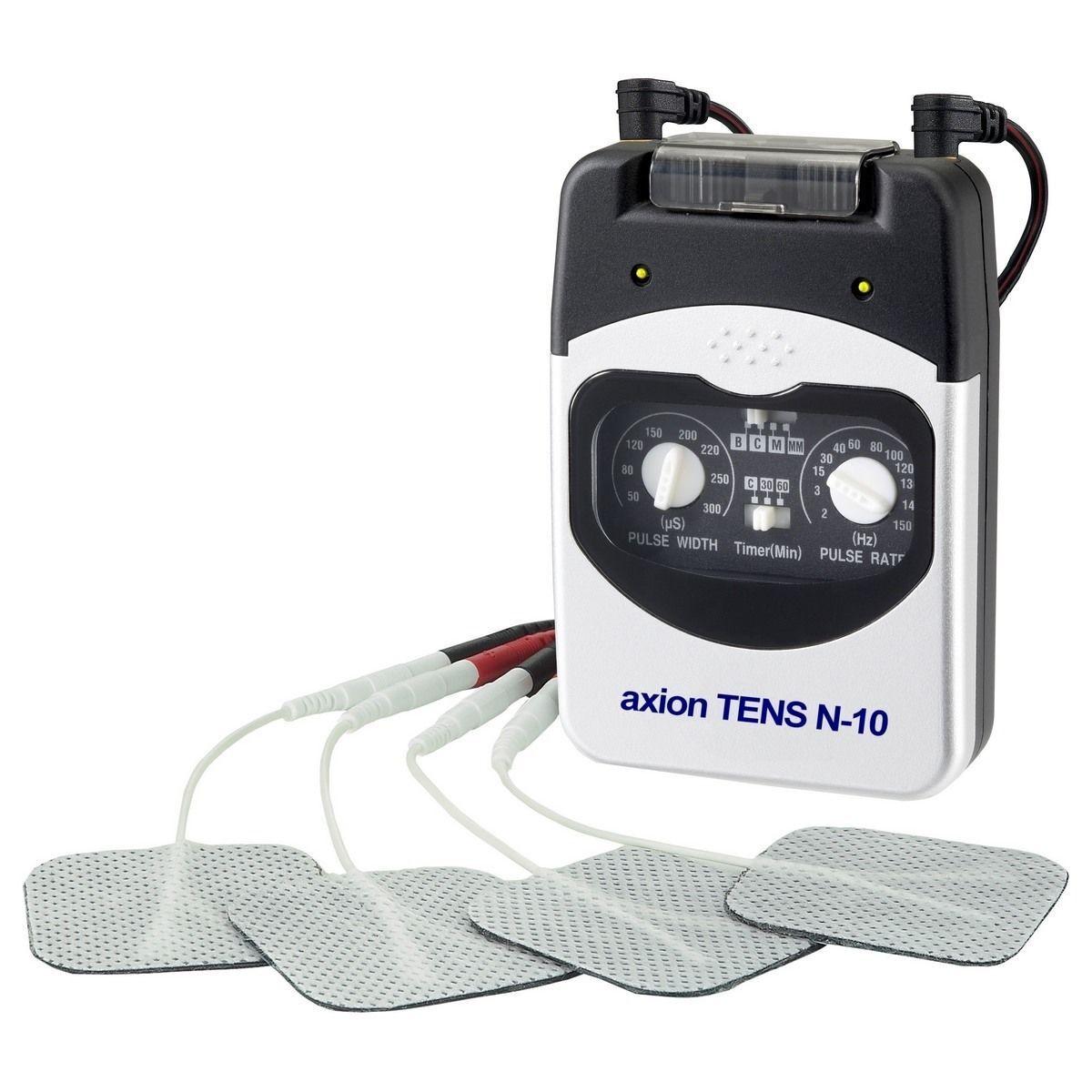 Electrostimulateur TENS anti-douleur 2 canaux - 4 modes TENS - 4 électrodes