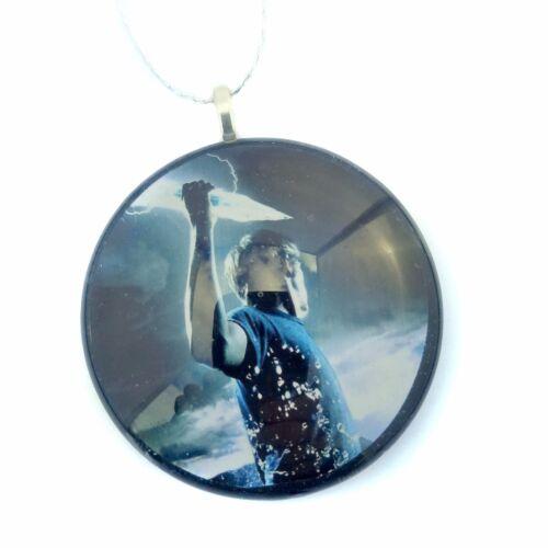 "PERCY JACKSON 2/"" Glass Circle Christmas Ornament"