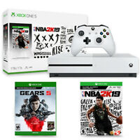 Deals on Microsoft Xbox One S 1TB NBA 2K19 Bundle + Gears 5