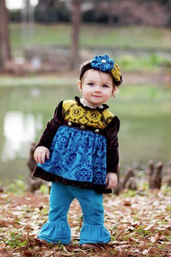 Purrfect Haute Baby Boutique Infant Girls Pant Set RENAISSANCE 0-24M EXCLUSIVE