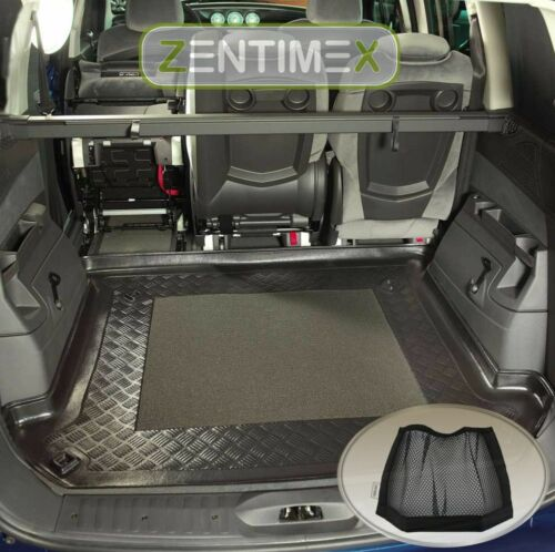 velcro-Organizer para Fiat Ulysse 2 Facelift van combi 5-puertas 2 Alfombrilla de Tina