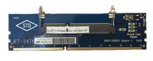 JET-5478MK2-DDR3-204pin-SODIMM-Adapter-with-Metal-Guide-1600Mhz