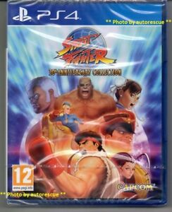 Street-Fighter-30th-Anniversary-Collection-039-New-amp-Sealed-039-PS4-Four