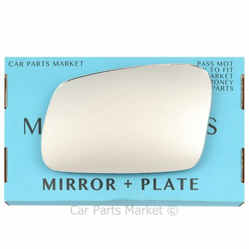 Plaque Côté Gauche Plat Wing Door Mirror Glass for LAND ROVER DISCOVERY 1995-2004
