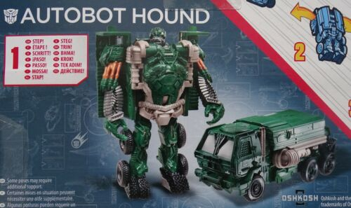 Hasbro ® a7069 Transformers Age of Extinction one step modificadores Autobot Hound