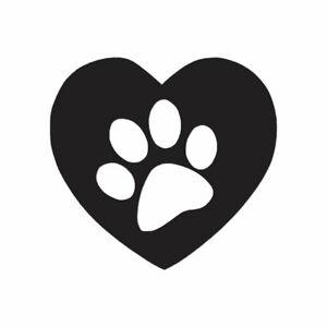 Love Beagle Dog Heart Multiple Patterns /& Sizes Decal Sticker ebn1422