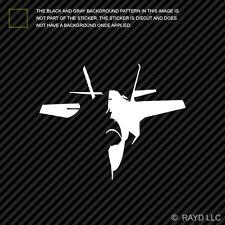 (2x) F-35 Lightning II Sticker Die Cut Decal Self Adhesive Vinyl Fighter F35