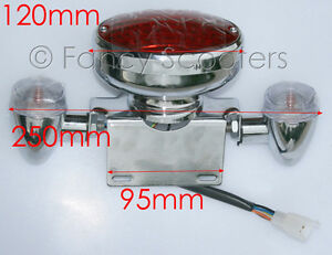 mini gas chopper tail light and turn signals with 5 wires. Black Bedroom Furniture Sets. Home Design Ideas