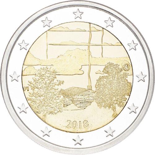 2018 Finland € 2 Euro UNC Uncirculated Coin Sauna Culture
