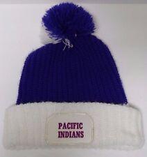 Vtg 1980s PACIFIC INDIANS HIGH SCHOOL MISSOURI ADVERTISING SNOW SKI STOCKING CAP