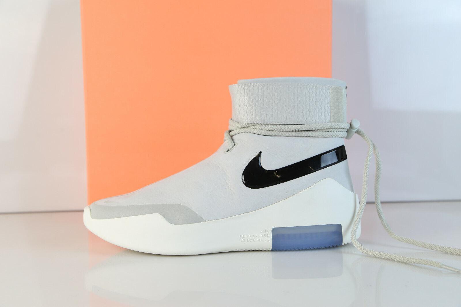 Nike X Fear of God Shoot Around SA Light Bone Black AT9915-002 11 fog