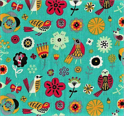 Yellow Glitter FQ Fat Quarter Fabric Butterfly Dragonfly 100/% Cotton Quilting