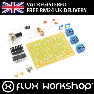 Details about ICL8038 Function Signal Generator Kit Unsoldered Sine Square  Saw Flux Workshop
