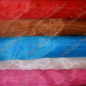 58/'/' Wide *sold in 50 yard bolts* Crystal Organdy