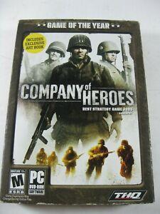 Company Of Heroes Pc Dvd Rom 2006 Art Book Ebay