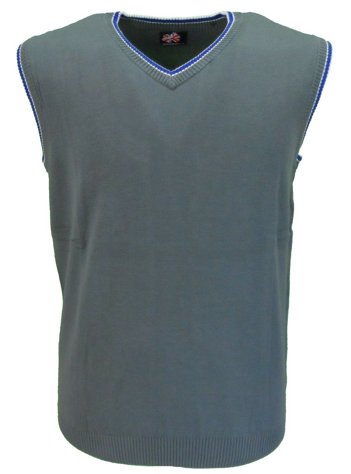 Warrior Grey Retro Tank Top