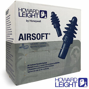 Box-Reusable-Ear-Plugs-HOWARD-LEIGHT-by-Honeywell-Airsoft-corded-Earplugs