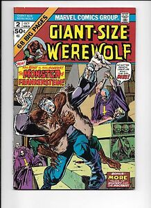 Giant-Size-Werewolf-2-October-1974-The-Monster-Of-Frankenstein-versus-By-Night