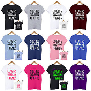 9239beb99 Image is loading Cousins-make-the-best-friends-Family-Matching-Set-