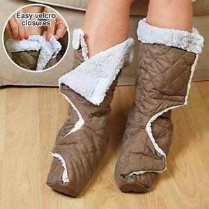 Leg-Foot-Warmers-Fleece-Therapeutic-Comfort-Snuggler-Washable-Sleeper-large