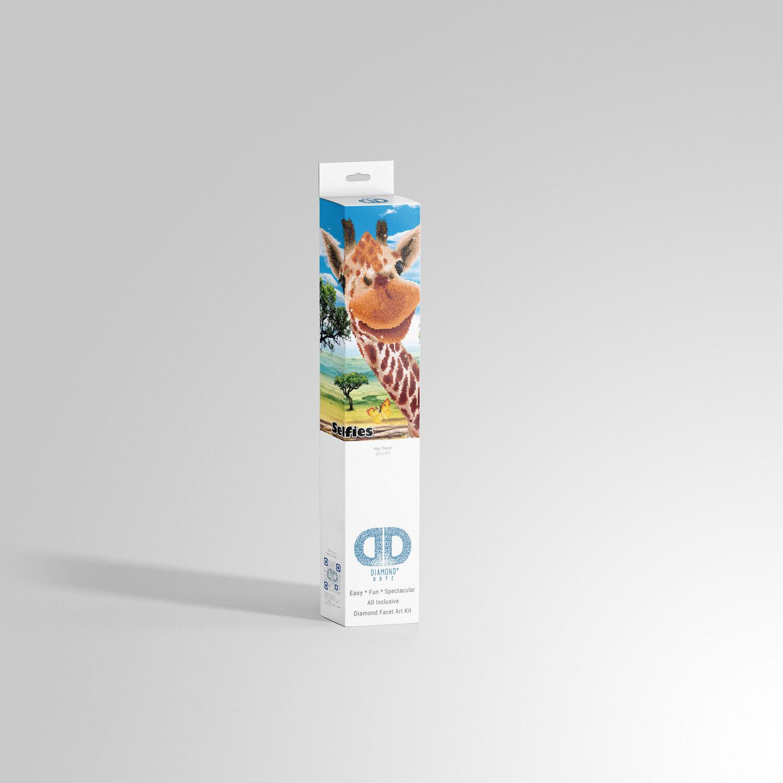 Diamond Dotz® Selfies  Giraffe Giraffe Giraffe  42x52cm - DD10-011 - Diamond Painting - NEU cf5b7f