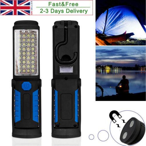 Rechargeable COB LED Work Light Mechanic Shop Inspection Lamp HandHeld Torch UK