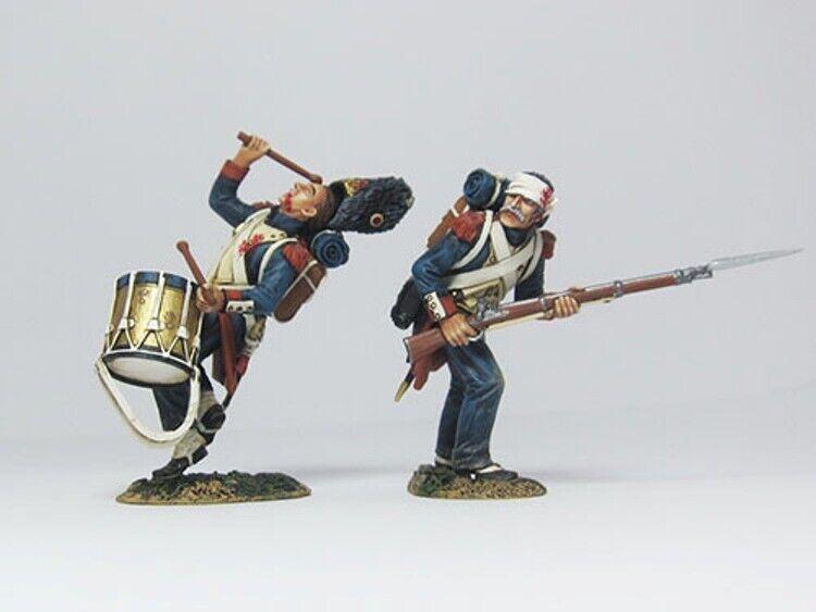 Team Miniatures Napoleonischer Krieg NPL003 French Grenadier Verwundet Set MIB