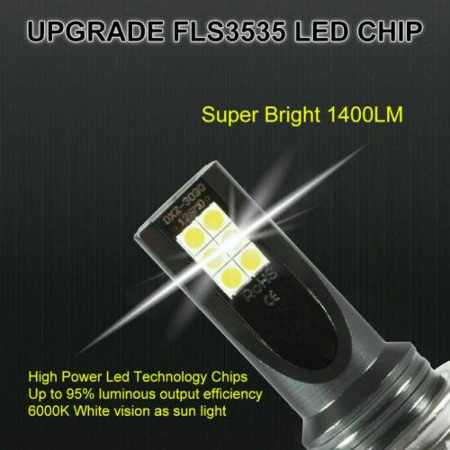2Pc H11 H8 H9 LED Headlight 110W 20000LM FOG Light Bulb 6000K Driving DRL Lamp