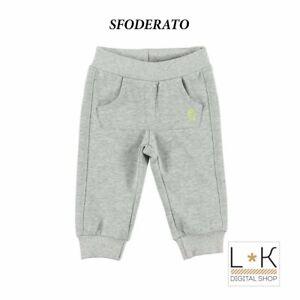 Pantalone-Tuta-Felpato-Grigio-Neonato-Sarabanda-L811