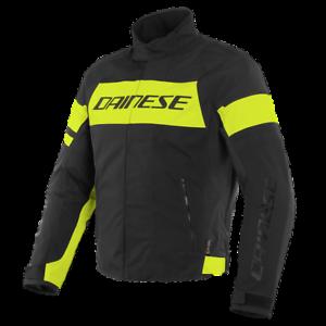 DAINESE-SAETTA-D-DRY-BLACK-YELLOW-MOTORCYCLE-JACKET-EU-50-52-54-56-58