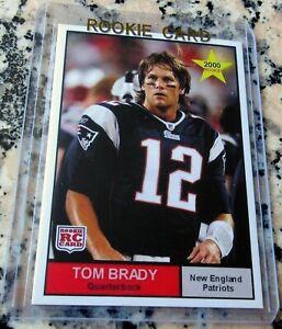 TOM BRADY 2000 STAR Rookie Card RC Patriots Buccaneers Superbowl Champs MVP HOT