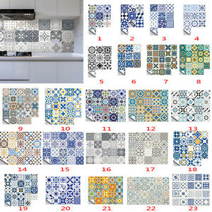 20Pcs-Waterproof-Tile-Stickers-Kitchen-Bathroom-Self-adhesive-Wall-Sticker-Decor